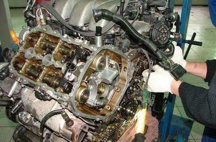 Замена двигателя VAG