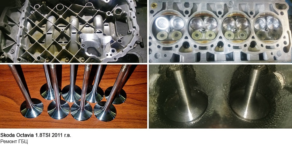ремонт двигателя Skoda Octavia 1.8